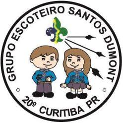 Logo do Grupo Escoteiro Santos Dumont.