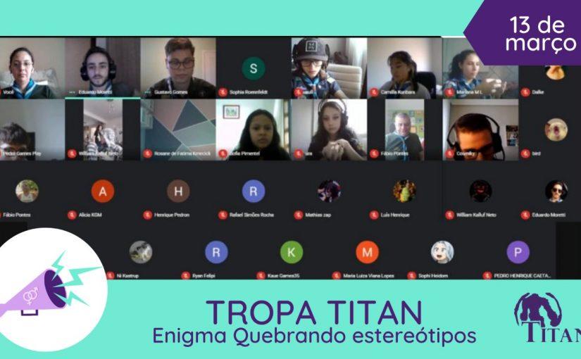 Equipe Equidade de Gênero GESD em Ação: Tropa Titan