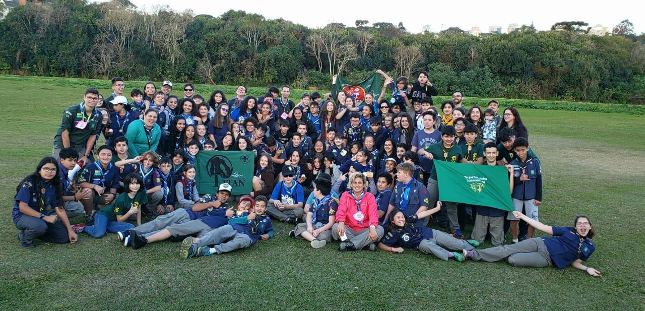 Tropas escoteiras do GESD participam do 1º Torneio de Caetebol