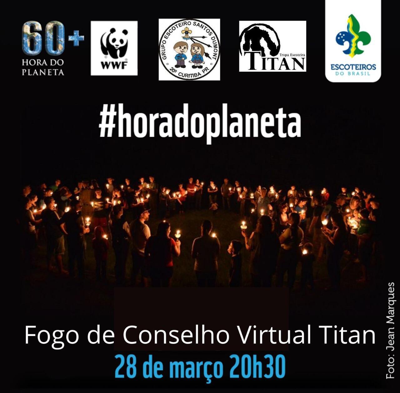 Hora do Planeta 2020 – com direito a Fogo de Conselho Virtual