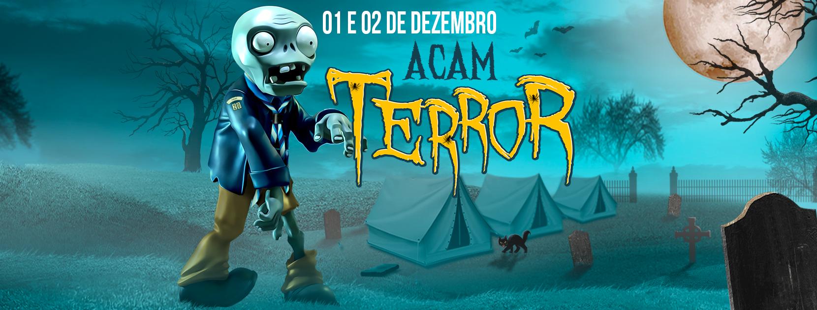 Vem aí o AcamGESD 2018 – uma noite de terror!!