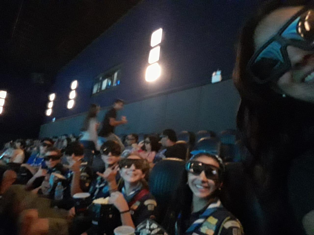 Patrulhas Águia e Gavião vão ao cinema